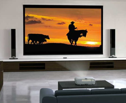 How do you build a home theater screen wall?